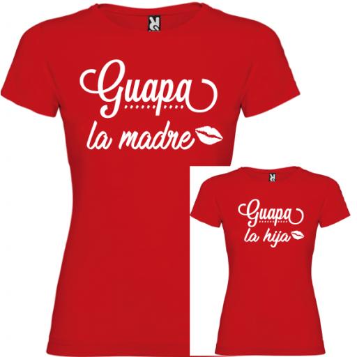 2 Camisetas Guapa la Madre, Guapa la Hija [2]