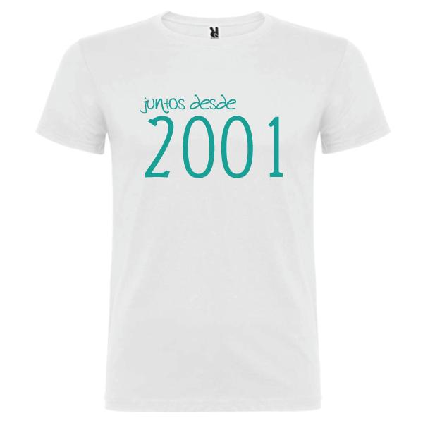 Camiseta Básica Juntos Desde