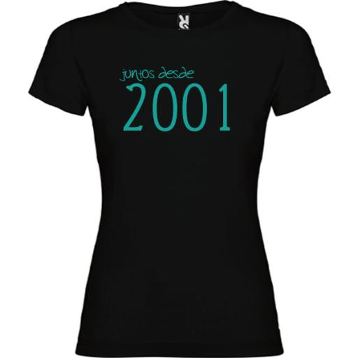 Camiseta Básica Juntos Desde [3]