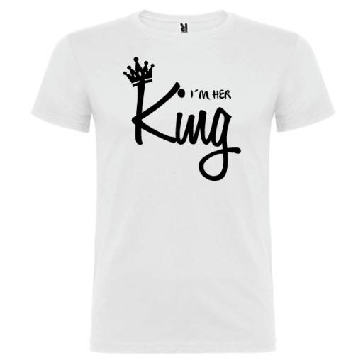 Camiseta I´m Her King
