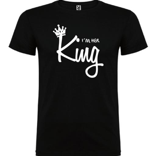 Camiseta I´m Her King [1]