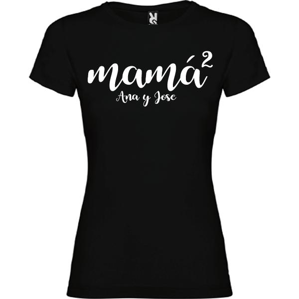 Camiseta Mama al cuadrado