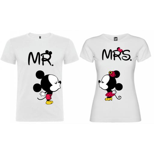 2 Camisetas MR MRS