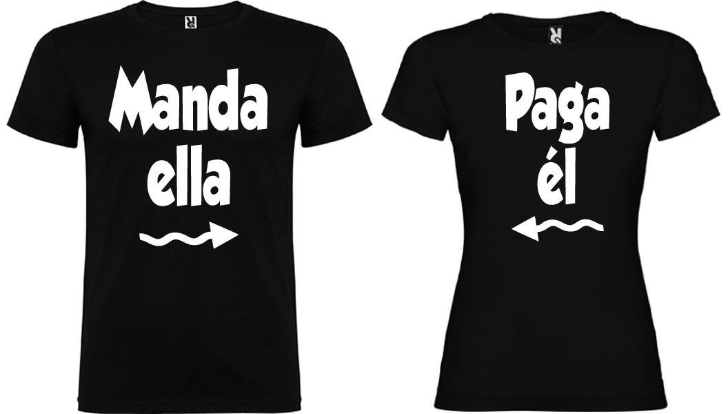 2 Camisetas Manda y Paga NE