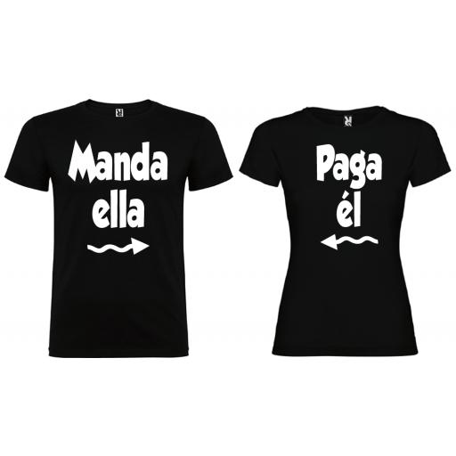 2 Camisetas Manda y Paga NE [0]