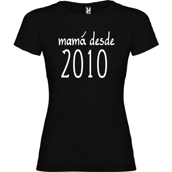 Camiseta Básica Mamá Desde