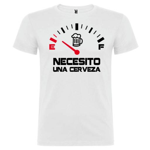 Camiseta Necesito una Cerveza [1]