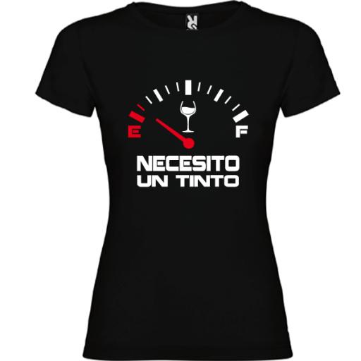 Camiseta Necesito un Tinto [1]