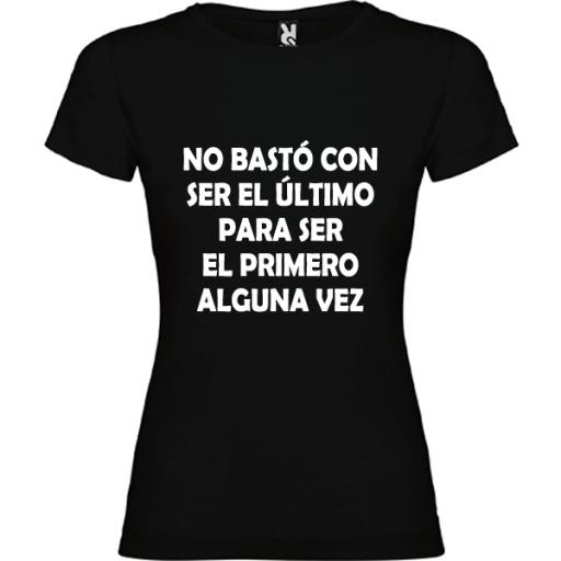 Camiseta Básica No Bastó [1]
