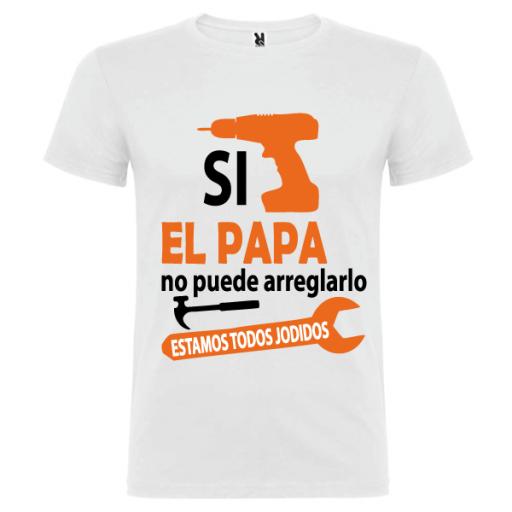 Camiseta Papa Arreglarlo [1]