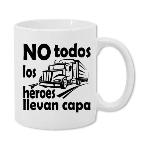 Taza Camionero Superhéroe [1]