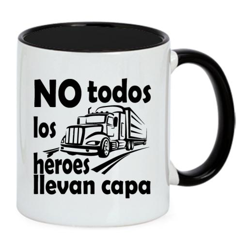 Taza Camionero Superhéroe
