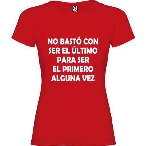 Camiseta Básica No Bastó