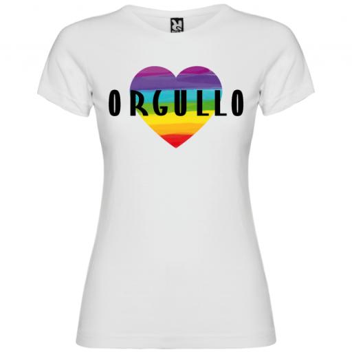 Camiseta Corazón Orgullo Gay -Mujer- [1]