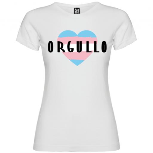 Camiseta Corazón Orgullo Trans -Mujer- [1]