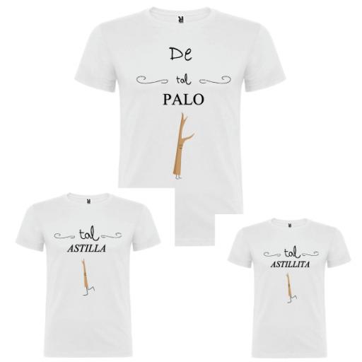 3 camisetas Astillas [0]