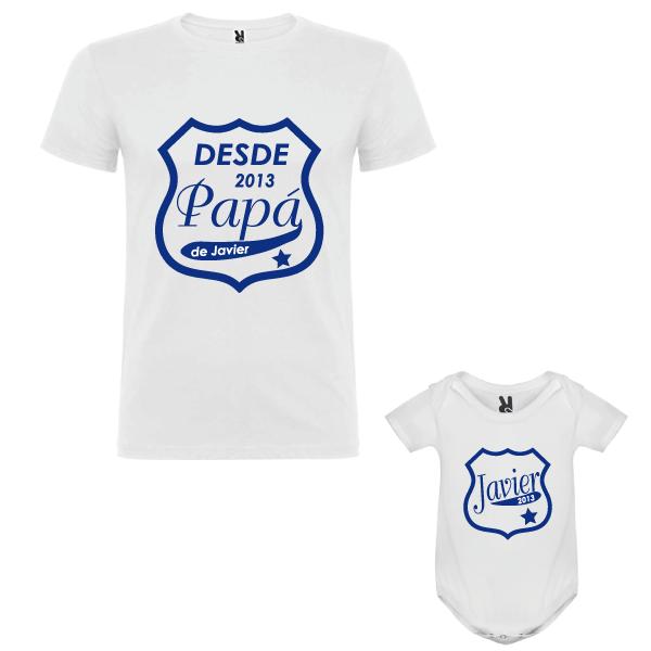 1 Camiseta y 1 body Papa desde