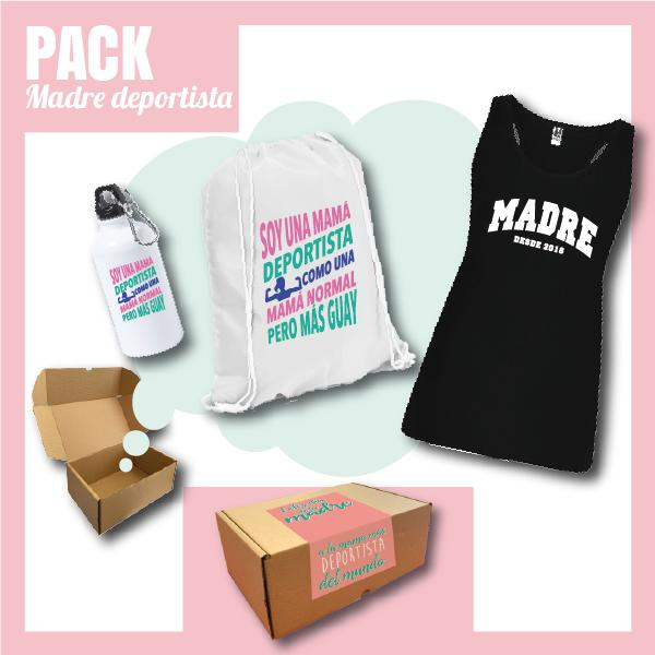 Caja Regalo Día de la Madre - Pack Madre Deportista