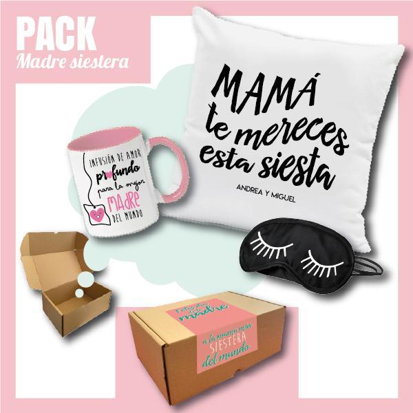 Caja Regalo Día de la Madre - Pack Madre Siestera