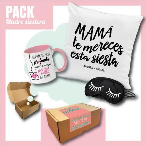 Caja Regalo Día de la Madre - Pack Madre Siestera [0]