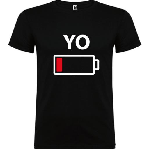 1 camiseta con body Yo y Mini yo (negro) [1]