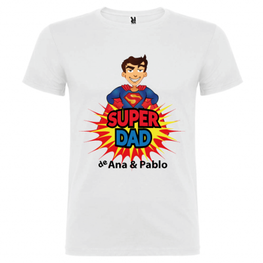 Camiseta Básica Súper Dad [1]