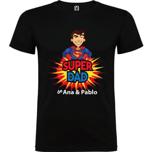 Camiseta Básica Súper Dad