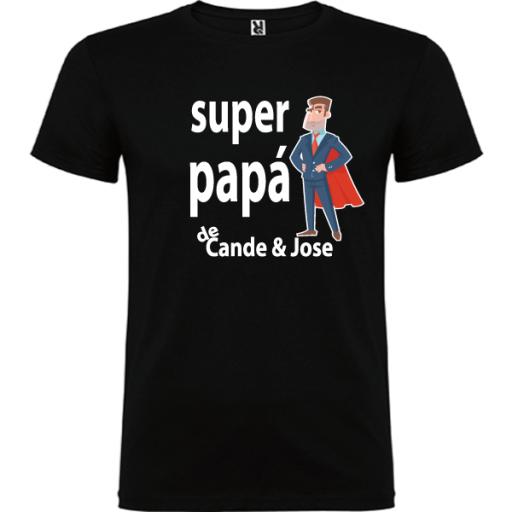 Camiseta Básica Súper Papa [1]