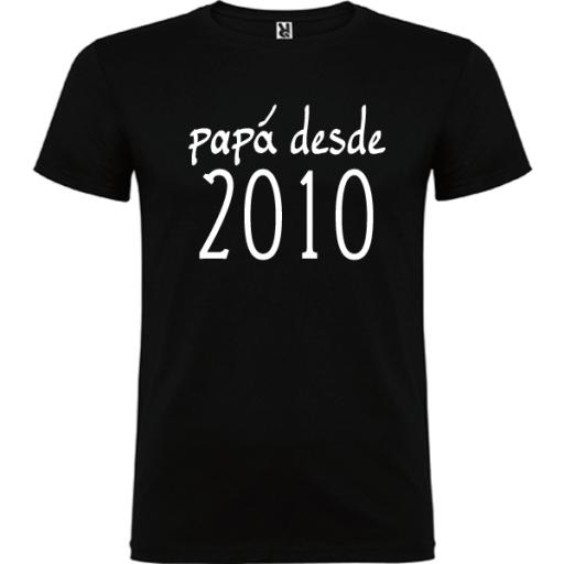 Camiseta Básica Papá Desde