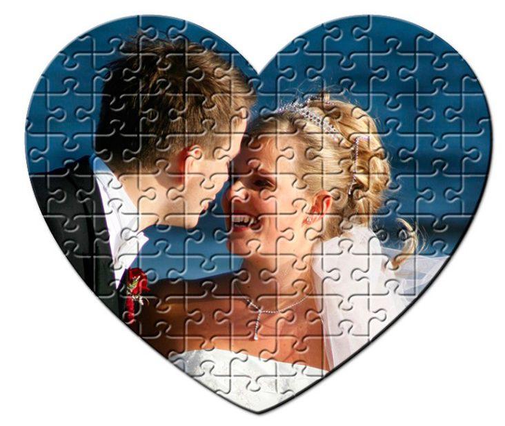 Puzzle corazón Imán