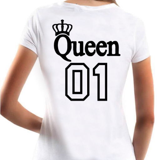Camiseta Básica Queen