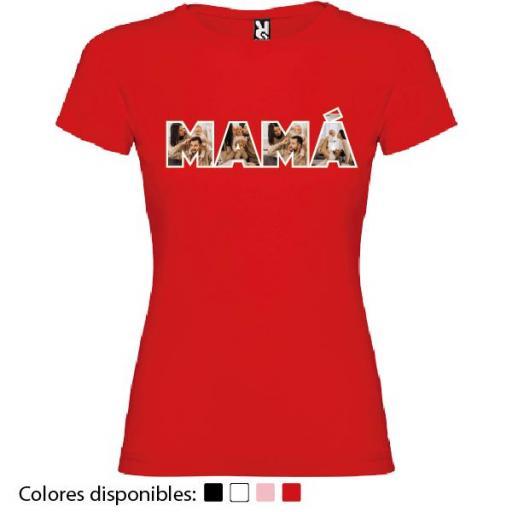 Camiseta Madre Personalizada Fotos [1]