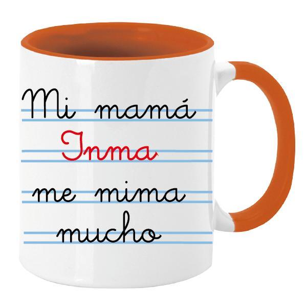 Taza Mi Mamá Me Mima Mucho