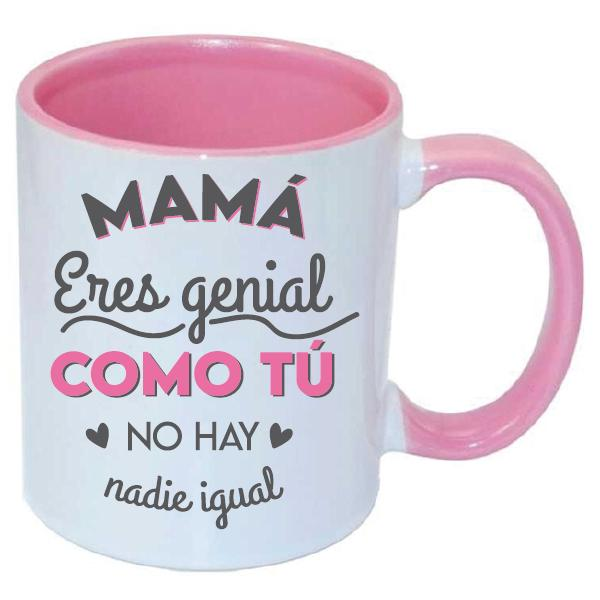 Taza Mamá Eres Genial