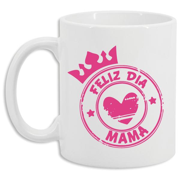 Taza Feliz día mama
