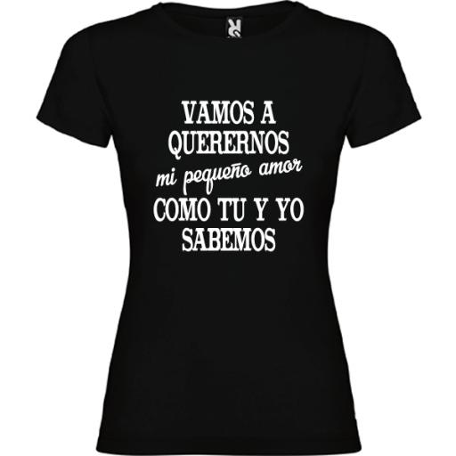 Camiseta Básica Vamos a (M)