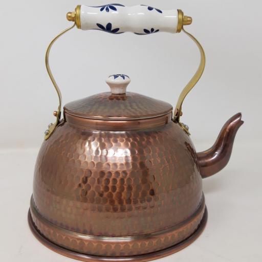 Cafetera cobre envejecido (oxi)