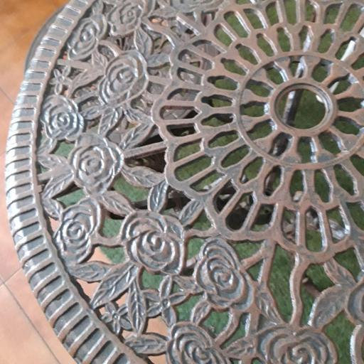 Mesa redonda rosas  [3]