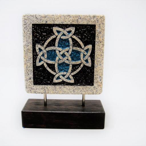 Peana piedra celta pequeña  [1]
