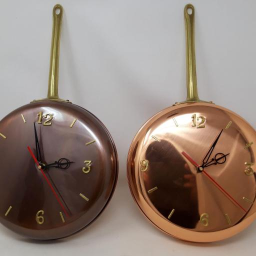Sartén reloj