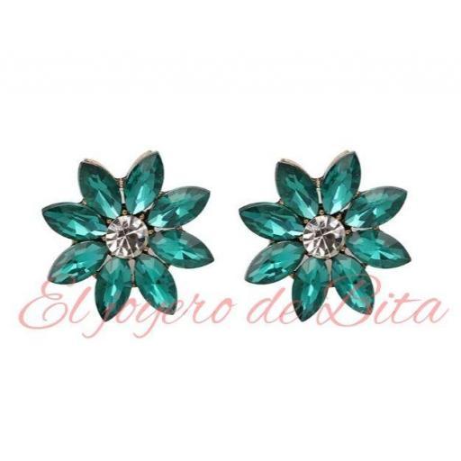 Pendientes Fiore Emerald [1]