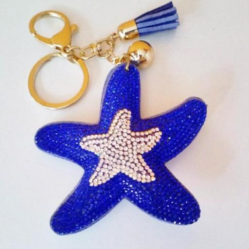 Llavero Estrella de mar