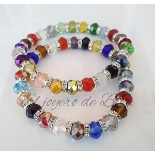 Pulsera Faceted
