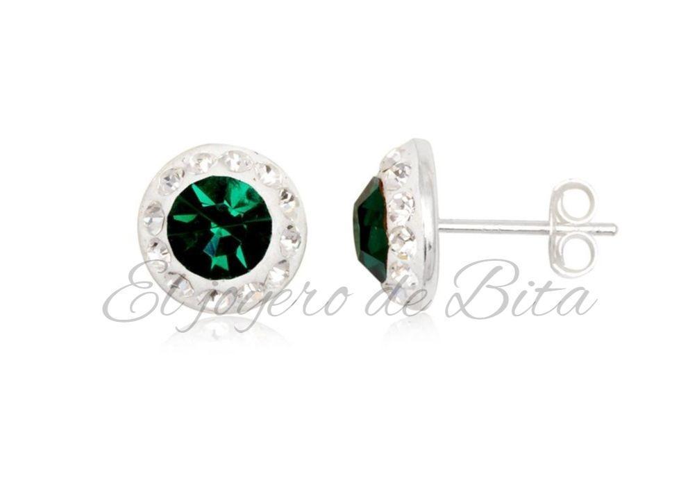 Pendientes Green Round