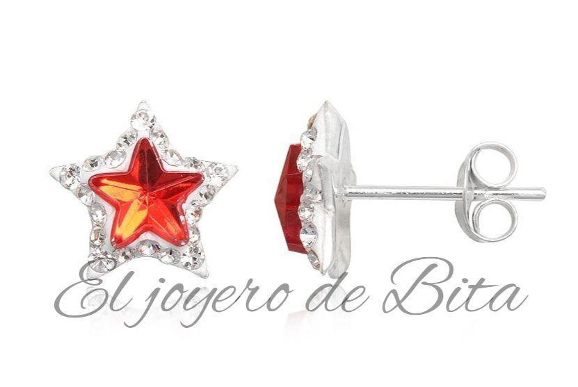 Pendientes Red Star