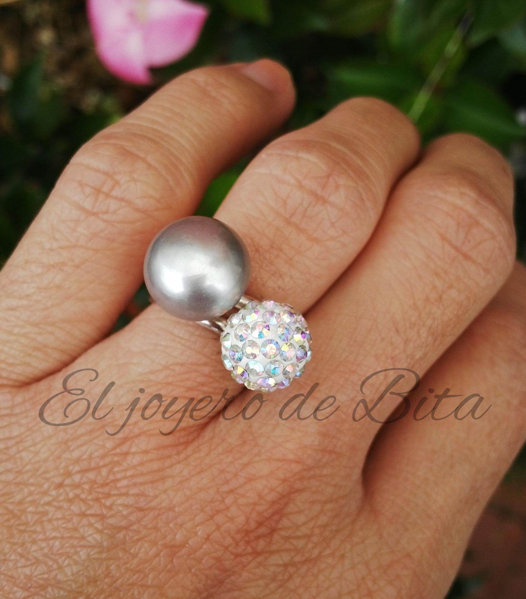 Anillo Silver Pearl