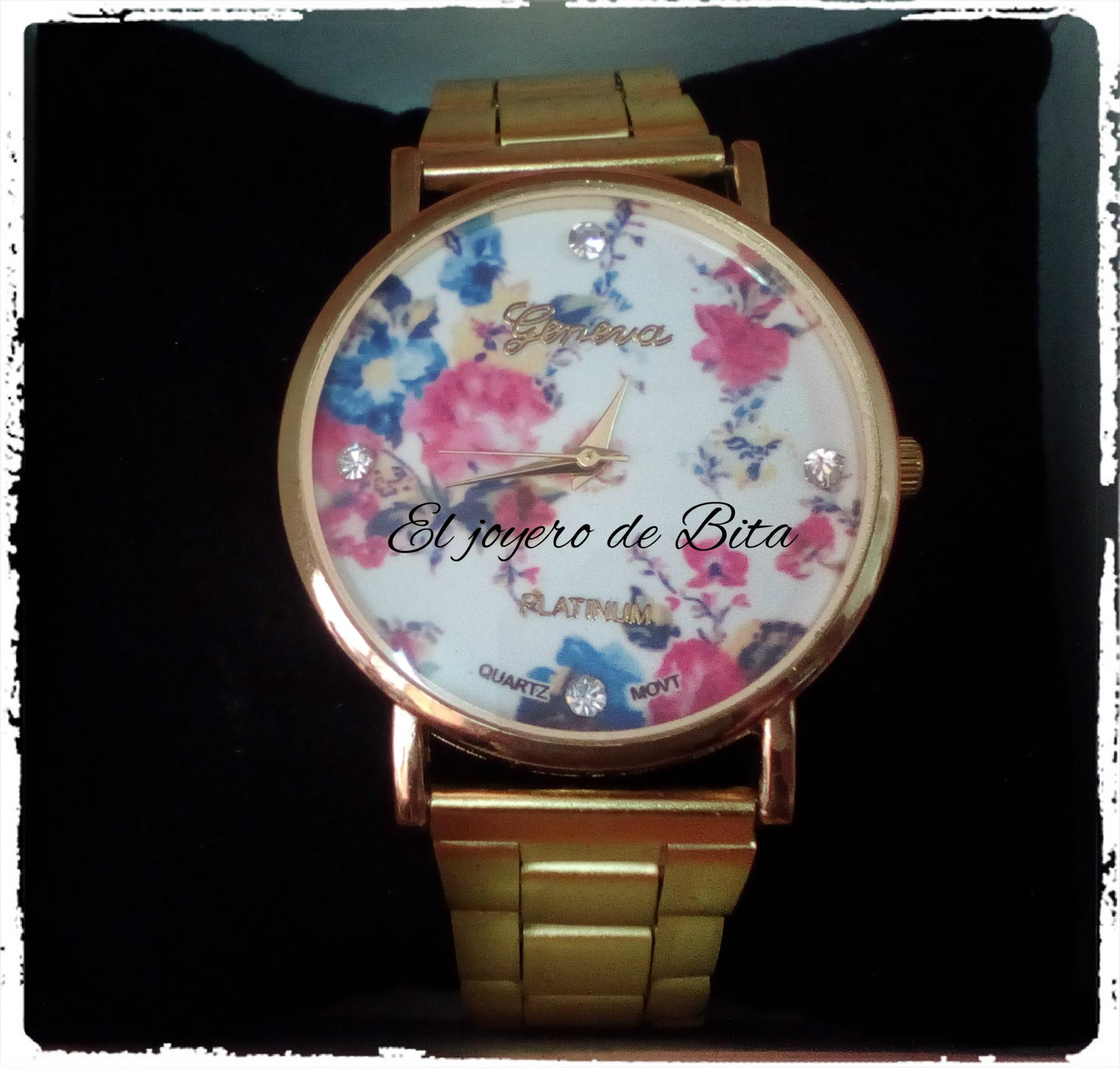 Reloj Flowers