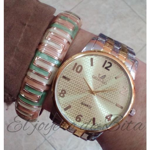 Reloj Classic Bicolor [1]