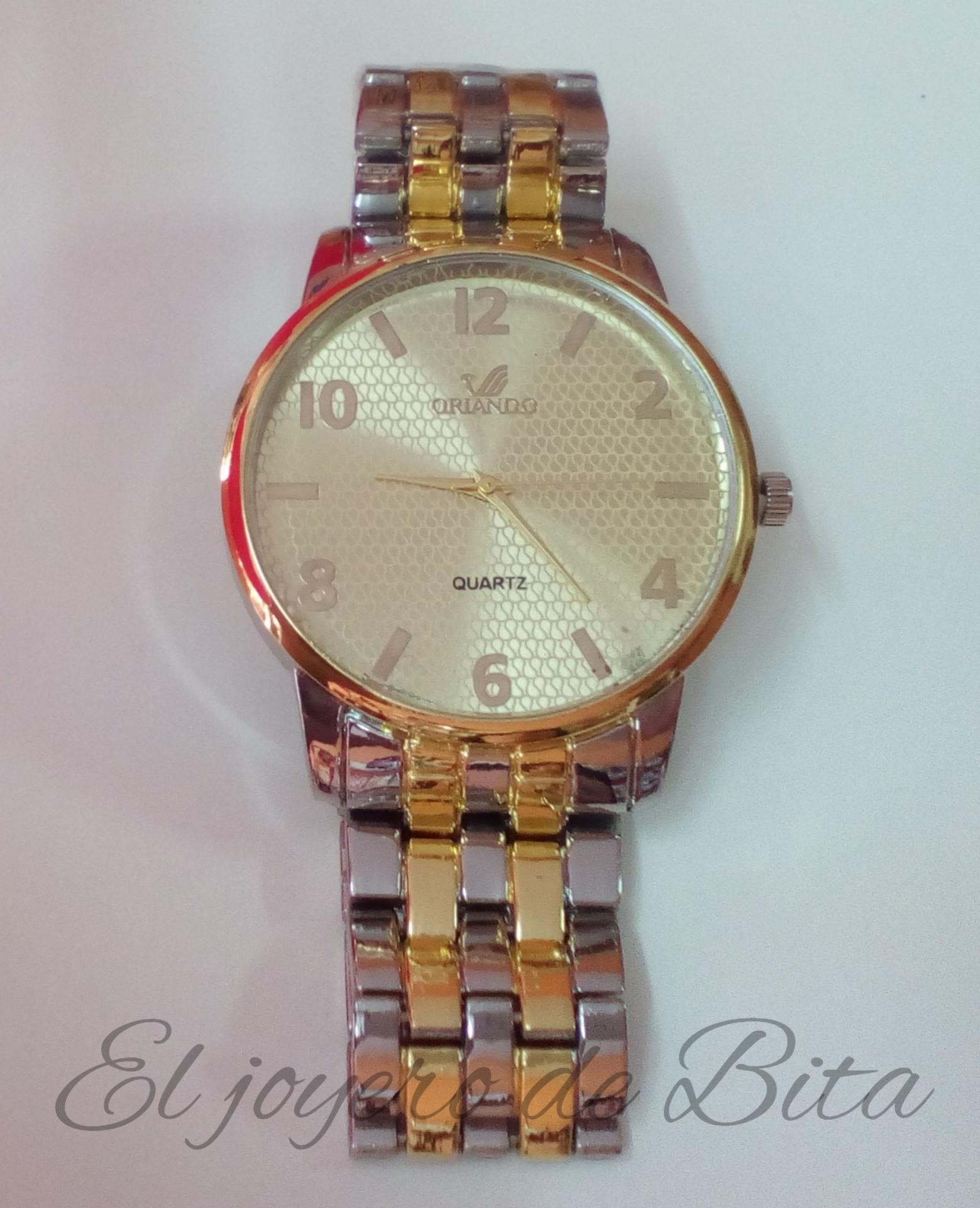 Reloj Classic Bicolor