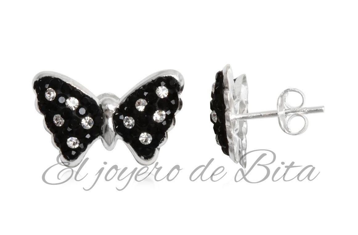 Pendientes Black Butterfly